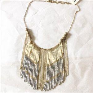 Lucky Brand Cascading Fringe Necklace